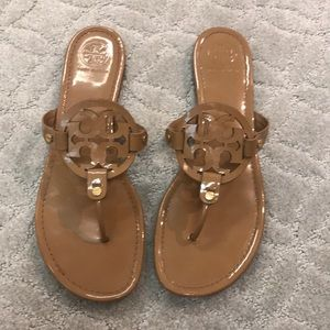 Tory Burch Miller patent size 12